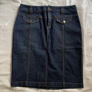 Michael Kors Denim Skirt-Excellent Condition